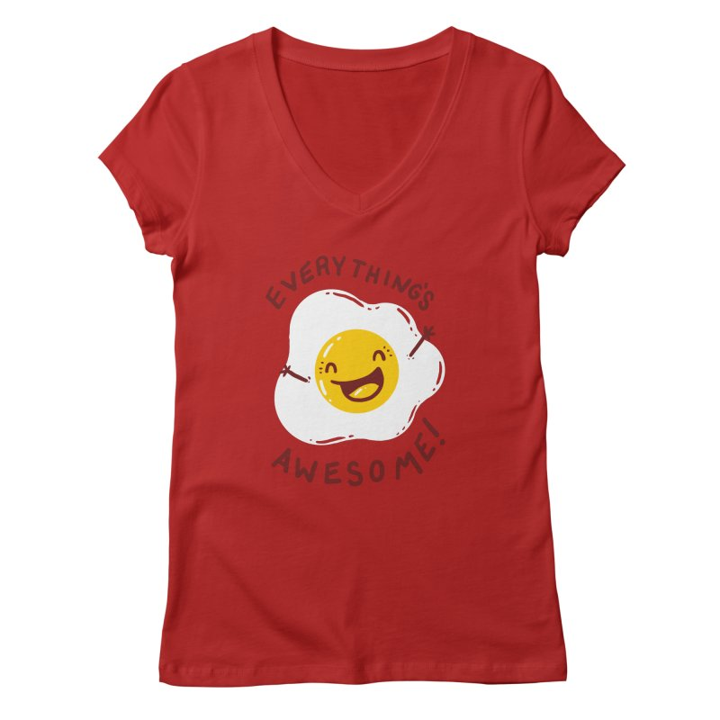Sunny Side Women's V-Neck by YNC