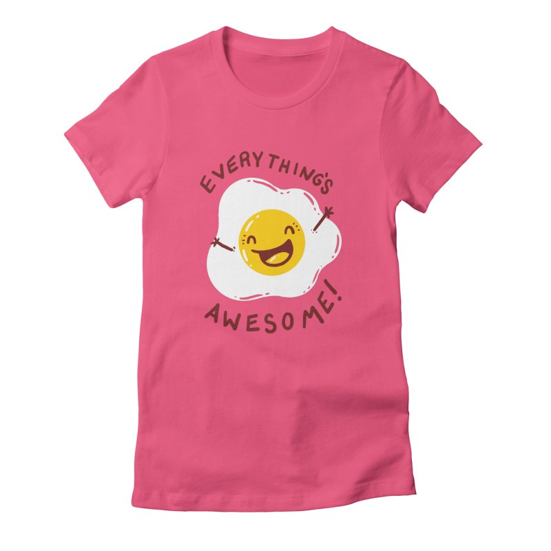 Sunny Side Women's T-Shirt by YNC