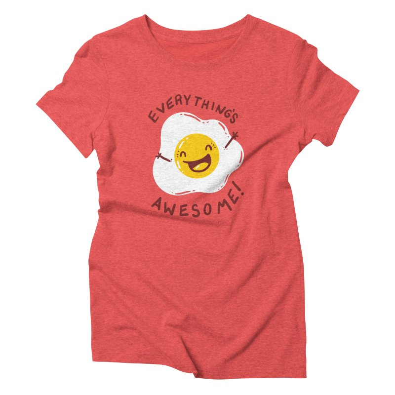 Sunny Side Women's Triblend T-shirt by YNC