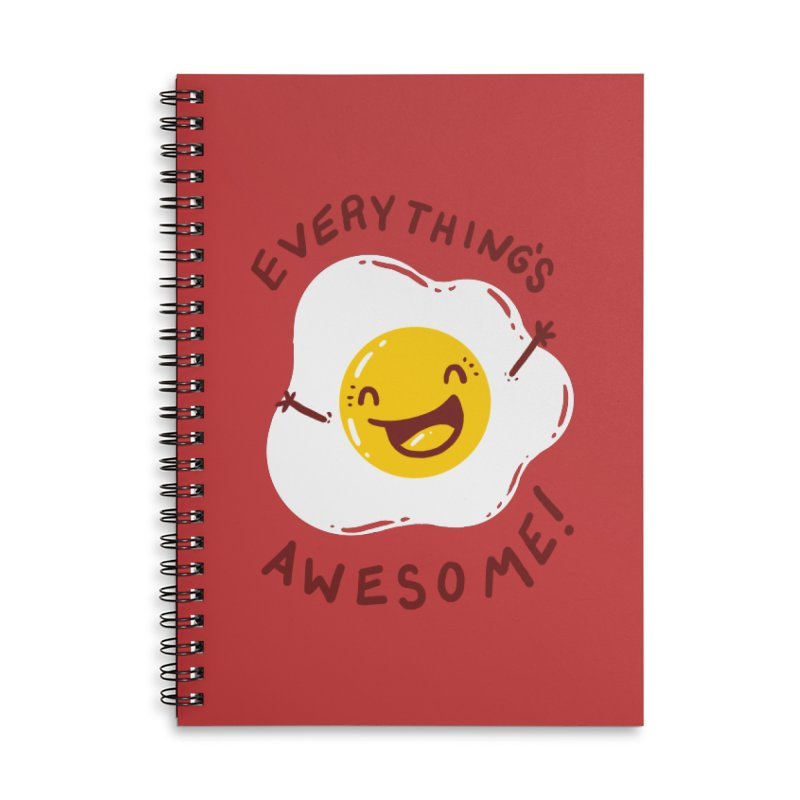 Sunny Side Accessories Lined Spiral Notebook by YNC