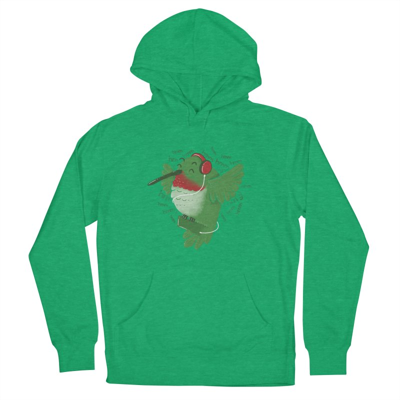 Humming Bird Women's French Terry Pullover Hoody by YNC