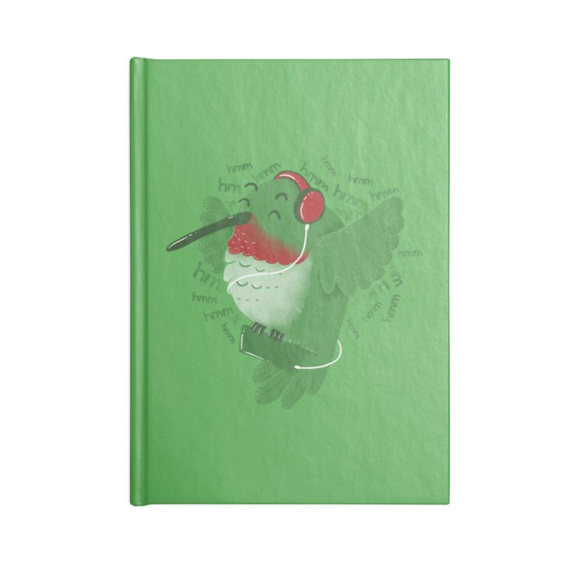 Humming Bird Accessories Notebook by YNC