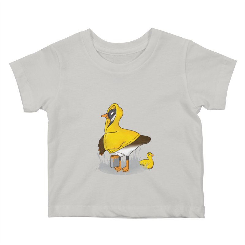 Duck! Duck? ... Goose? Kids Baby T-Shirt by YNC