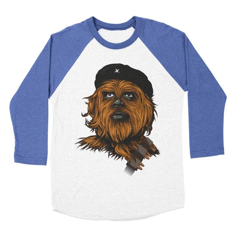 Chewie Guevara Women's Baseball Triblend T-Shirt by yobann's Artist Shop