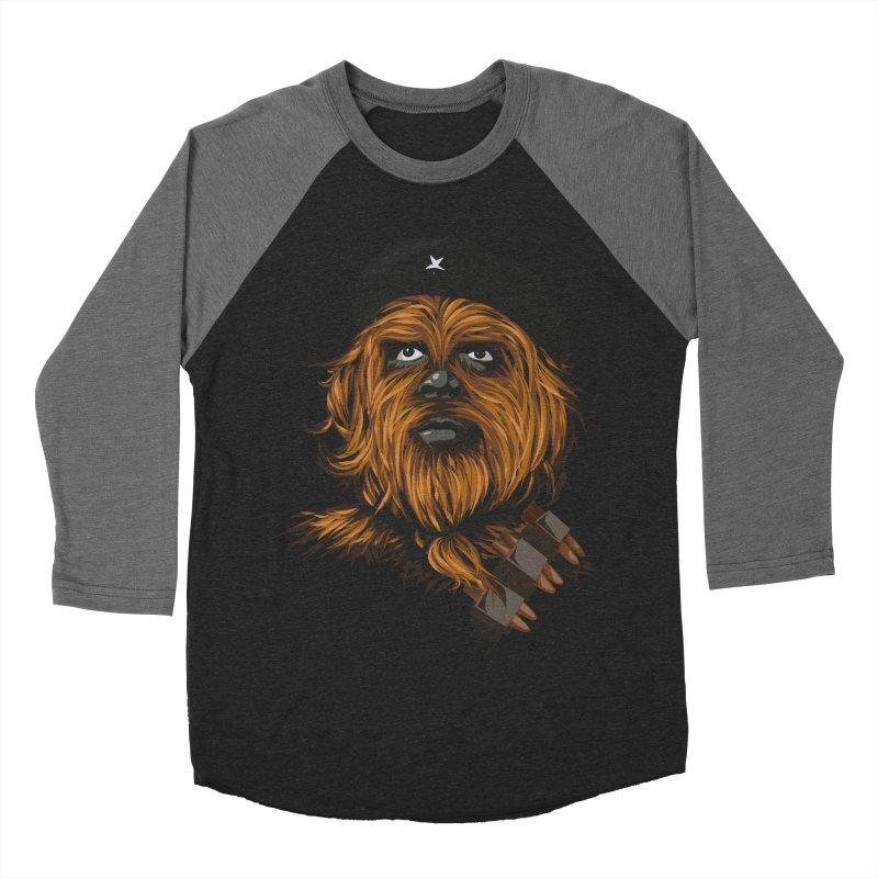 Chewie Guevara Men's Baseball Triblend T-Shirt by yobann's Artist Shop