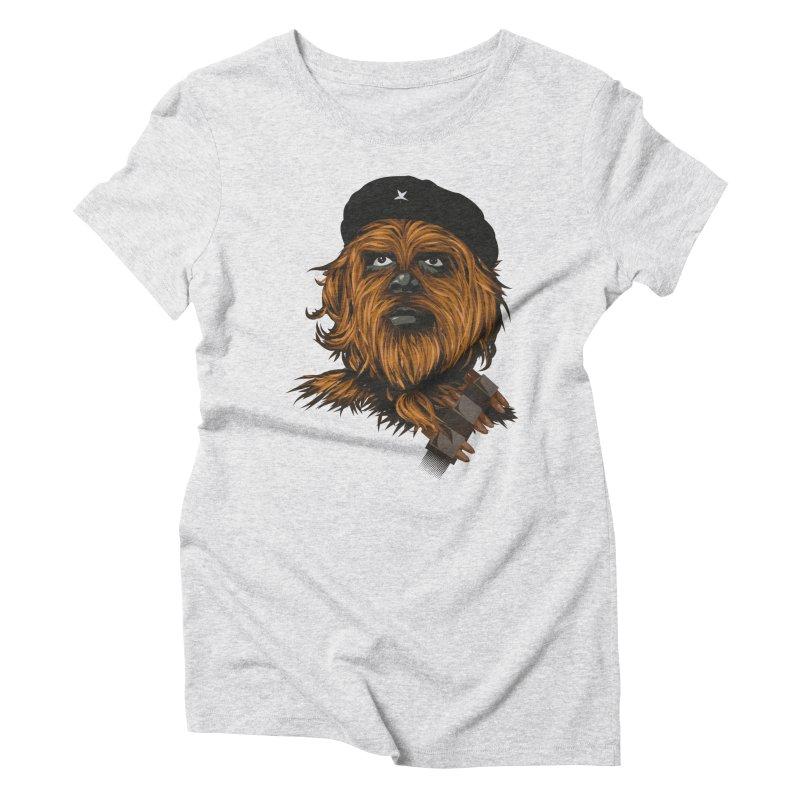 Chewie Guevara Women's Triblend T-shirt by yobann's Artist Shop