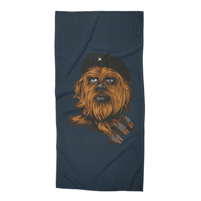 Chewie Guevara Accessories Beach Towel by yobann's Artist Shop
