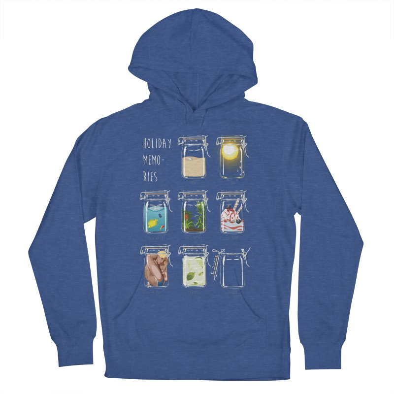 Holiday memories Men's Pullover Hoody by yobann's Artist Shop