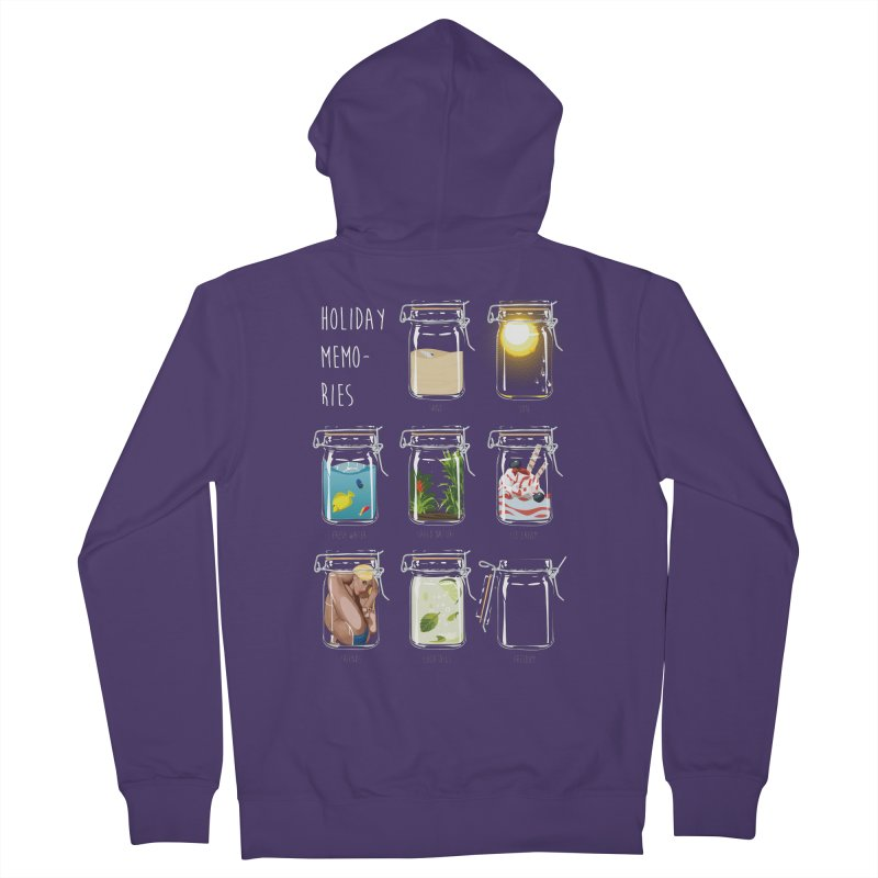 Holiday memories Women's Zip-Up Hoody by yobann's Artist Shop