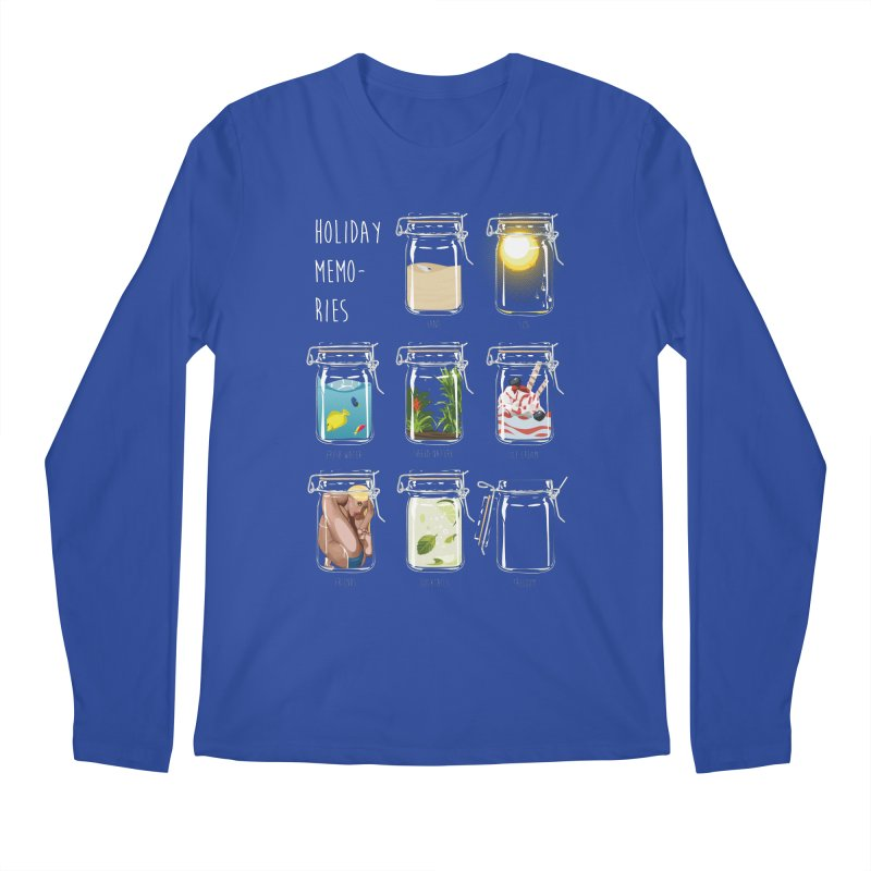 Holiday memories Men's Longsleeve T-Shirt by yobann's Artist Shop