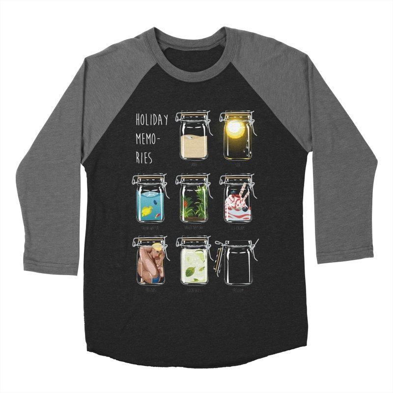 Holiday memories Women's Baseball Triblend T-Shirt by yobann's Artist Shop