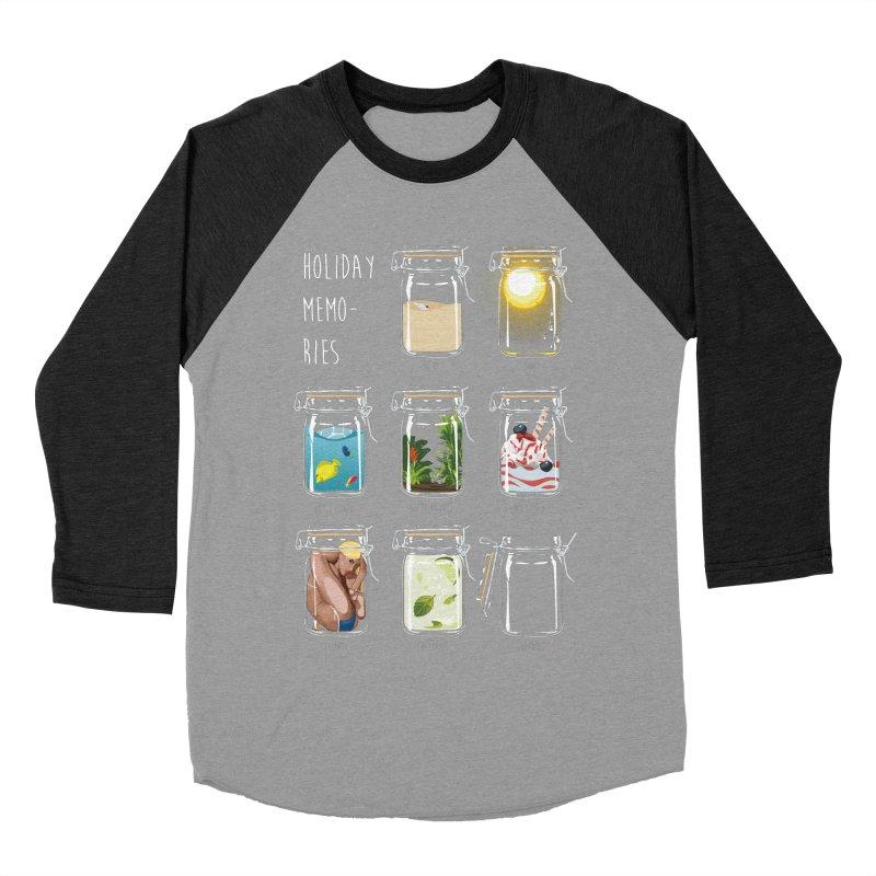 Holiday memories Men's Baseball Triblend T-Shirt by yobann's Artist Shop