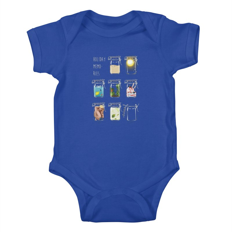 Holiday memories Kids Baby Bodysuit by yobann's Artist Shop