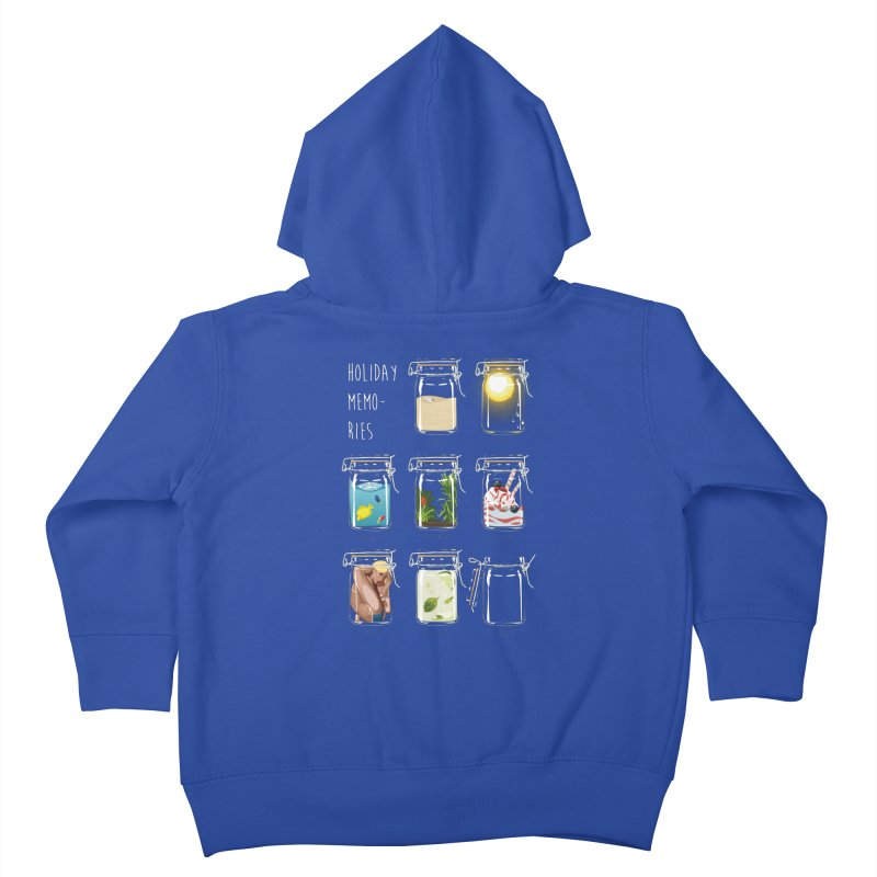 Holiday memories Kids Toddler Zip-Up Hoody by yobann's Artist Shop