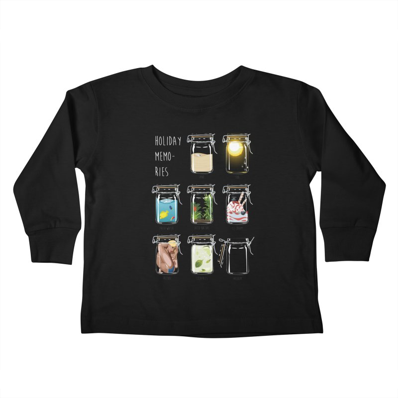 Holiday memories Kids Toddler Longsleeve T-Shirt by yobann's Artist Shop
