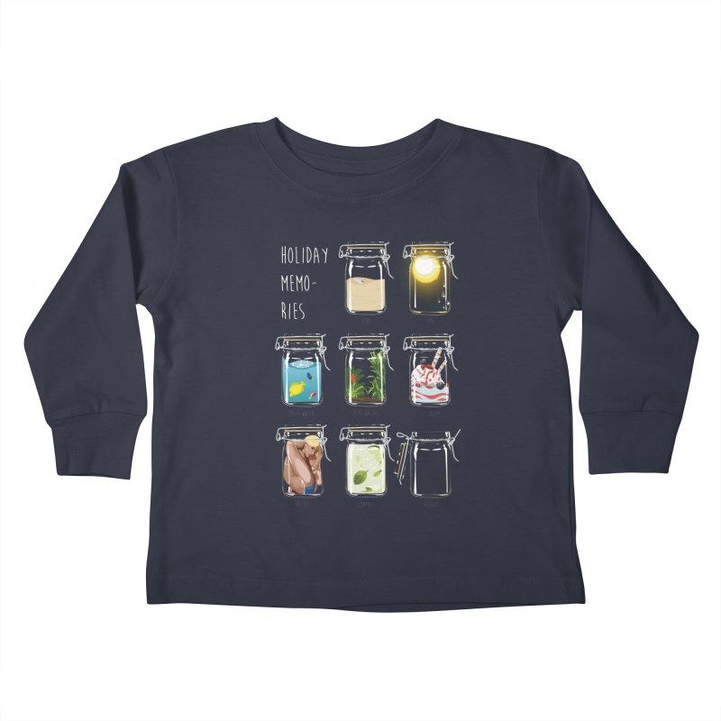 Holiday memories Kids Toddler Longsleeve T-Shirt by yobann's Artist Shop