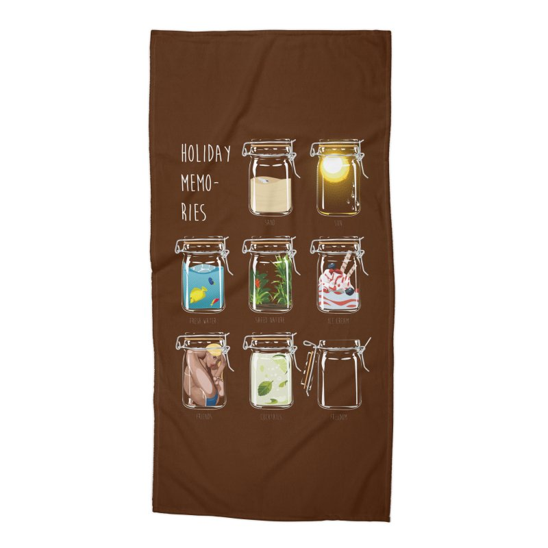 Holiday memories Accessories Beach Towel by yobann's Artist Shop