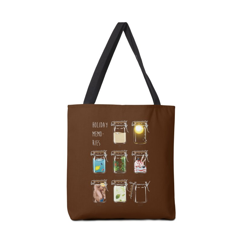 Holiday memories Accessories Bag by yobann's Artist Shop