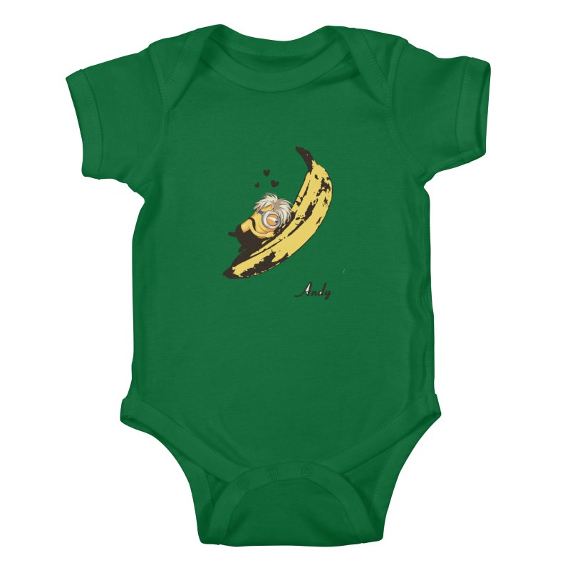Andy Kids Baby Bodysuit by yobann's Artist Shop