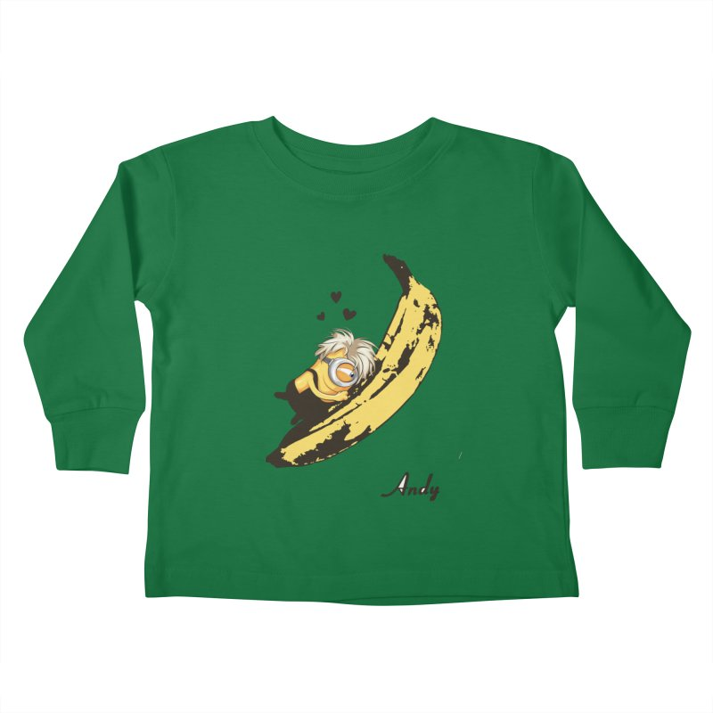 Andy Kids Toddler Longsleeve T-Shirt by yobann's Artist Shop
