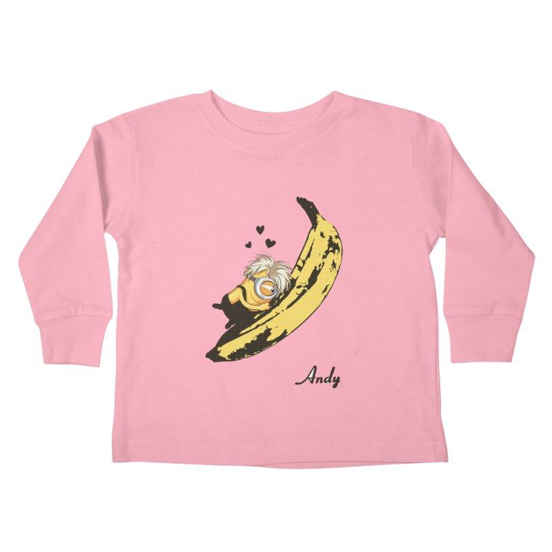 Andy Kids Toddler Longsleeve T-Shirt by yobann's Artist Shop