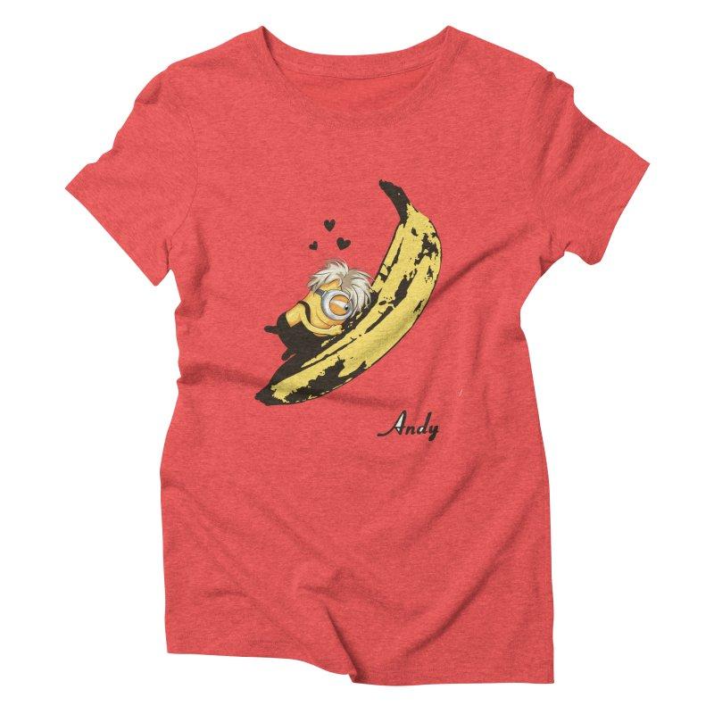 Andy Women's Triblend T-Shirt by yobann's Artist Shop