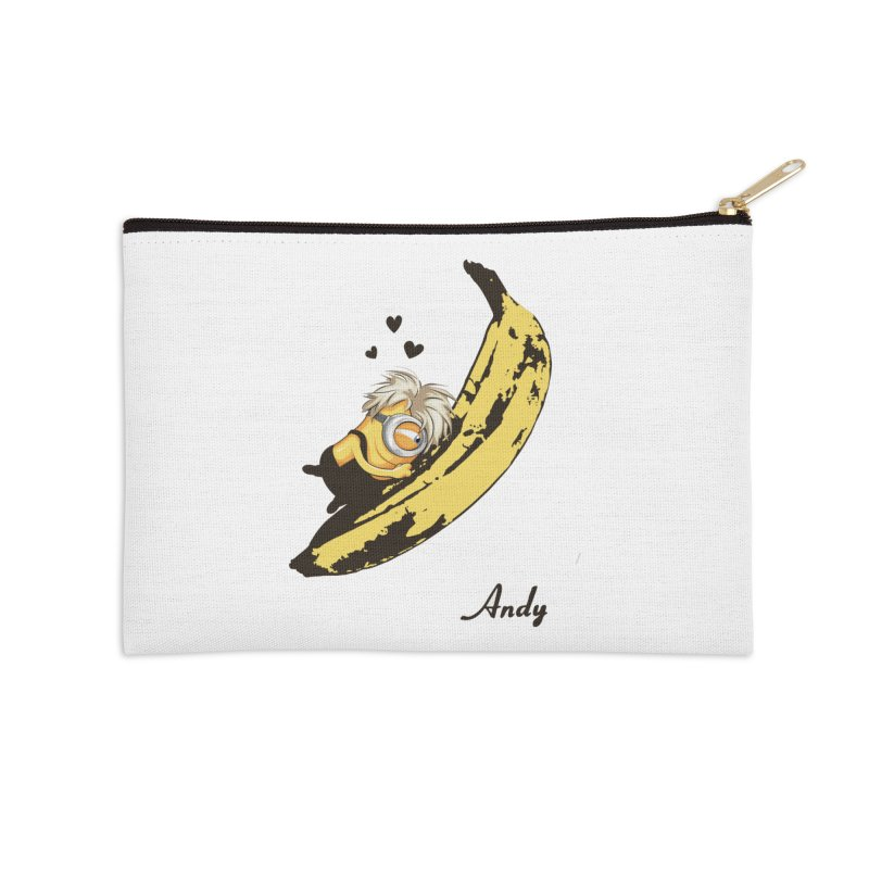 Andy Accessories Zip Pouch by yobann's Artist Shop