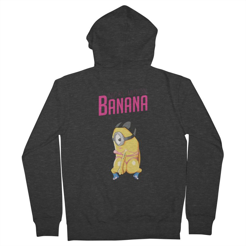 Banana Women's Zip-Up Hoody by yobann's Artist Shop