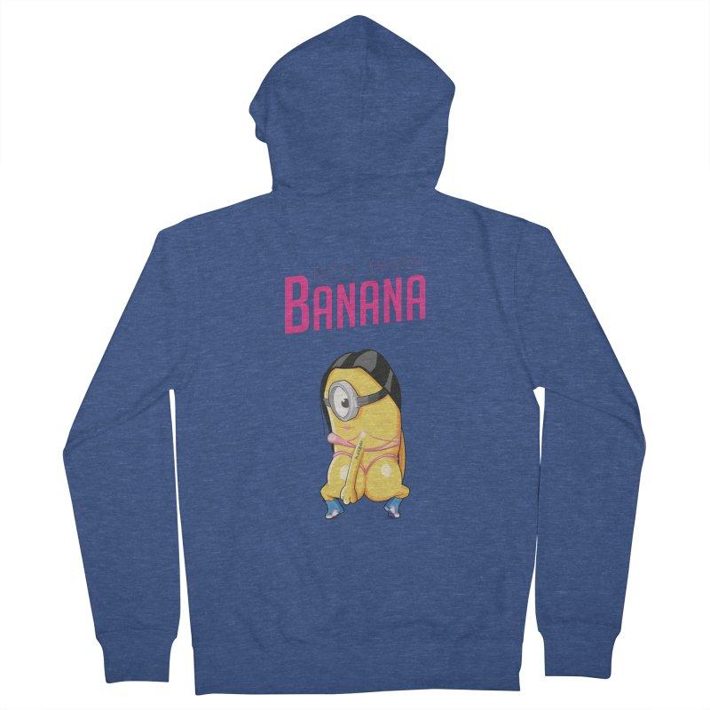 Banana Women's Zip-Up Hoody by yobann's Artist Shop