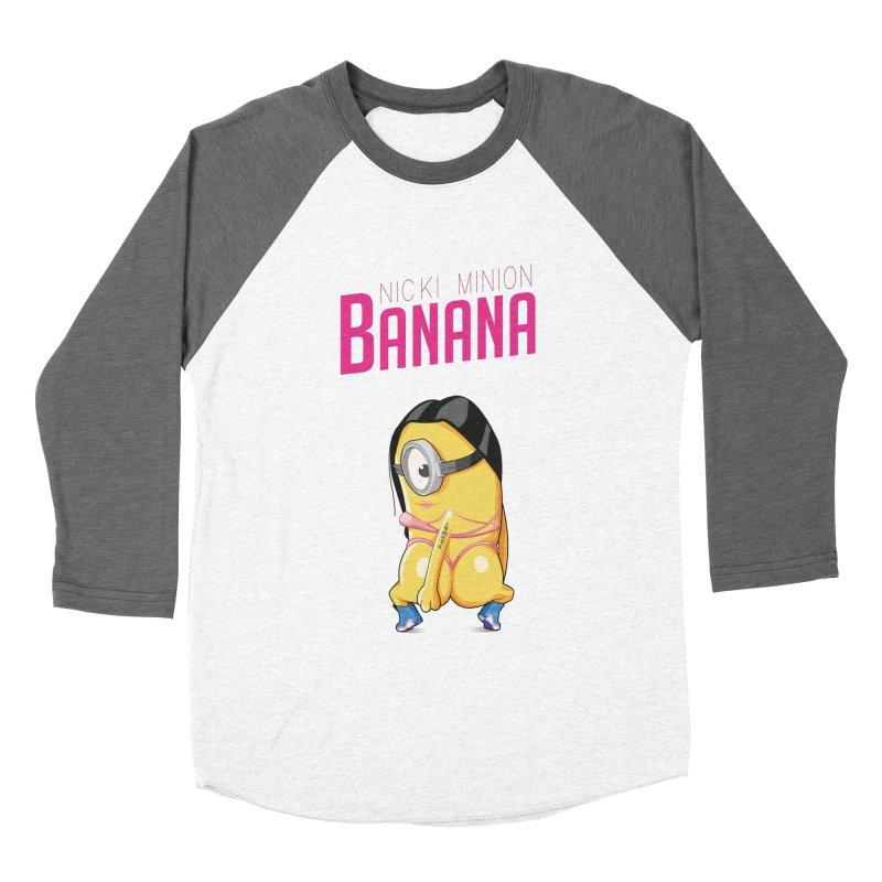 Banana Women's Baseball Triblend T-Shirt by yobann's Artist Shop