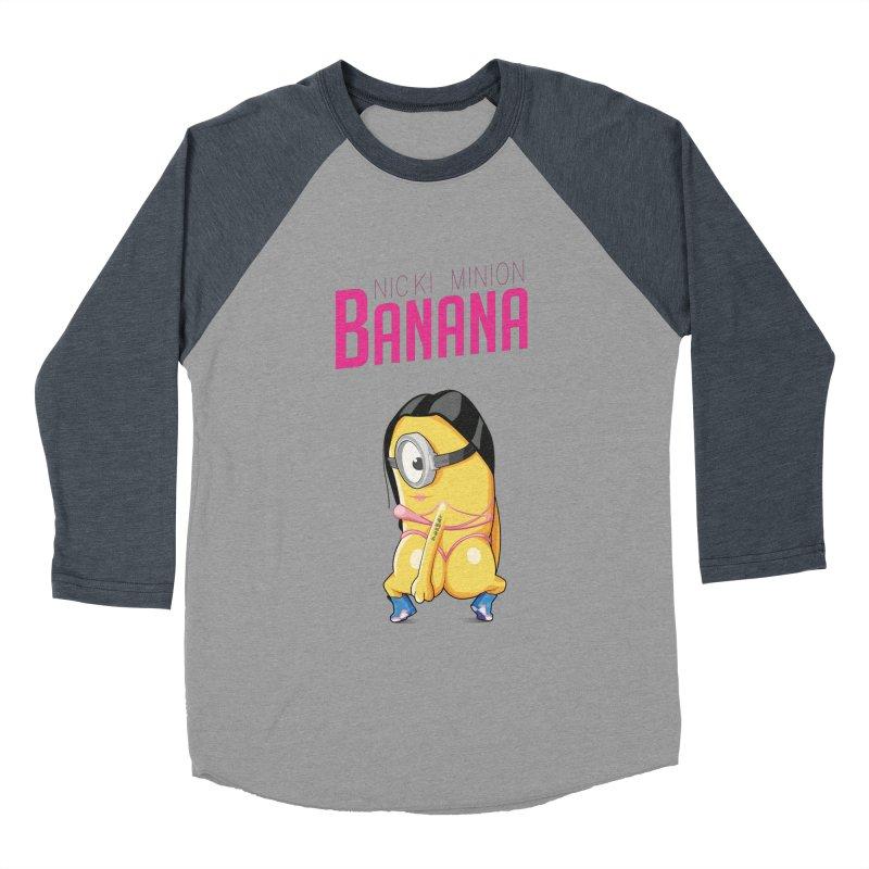 Banana Men's Baseball Triblend T-Shirt by yobann's Artist Shop