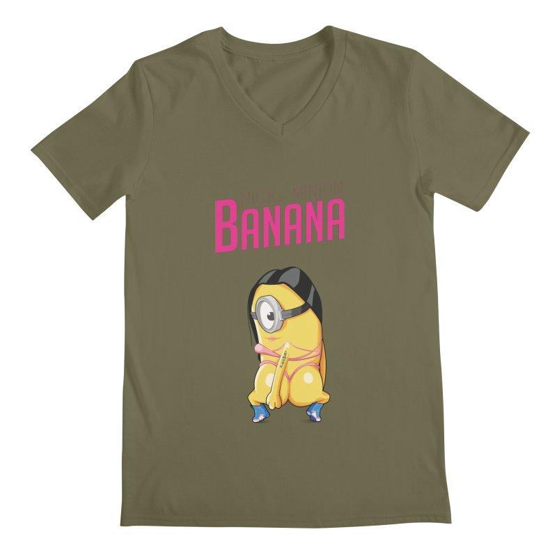 Banana Men's V-Neck by yobann's Artist Shop