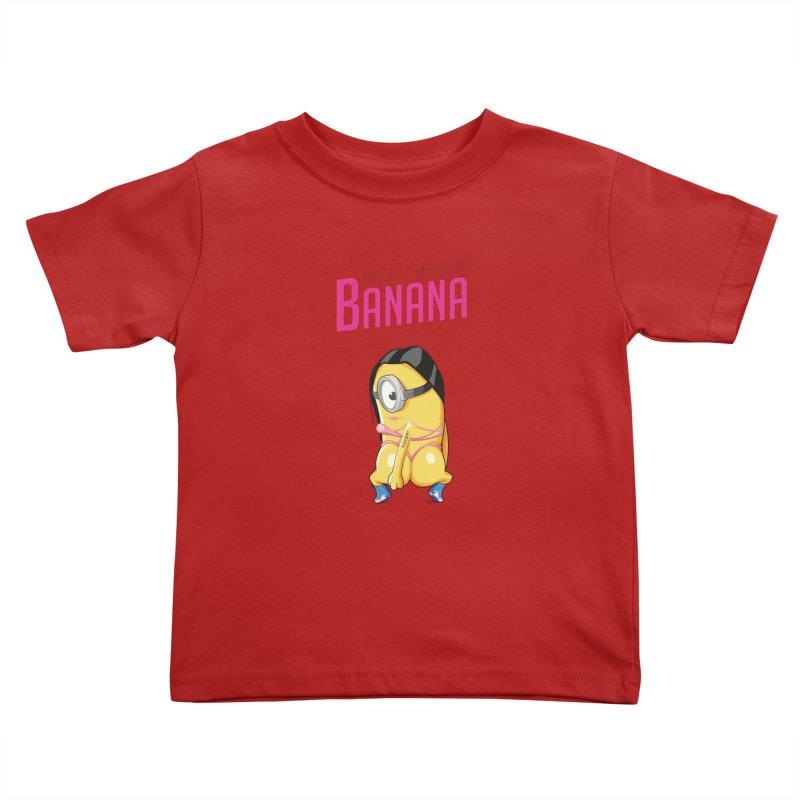 Banana Kids Toddler T-Shirt by yobann's Artist Shop