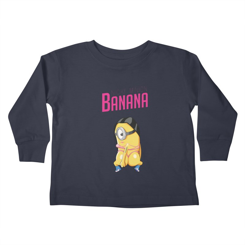 Banana Kids Toddler Longsleeve T-Shirt by yobann's Artist Shop