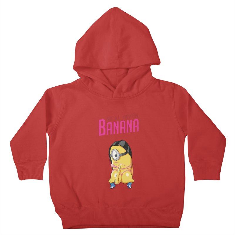 Banana Kids Toddler Pullover Hoody by yobann's Artist Shop