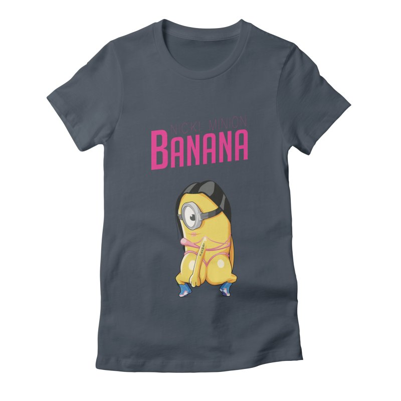 Banana Women's Fitted T-Shirt by yobann's Artist Shop