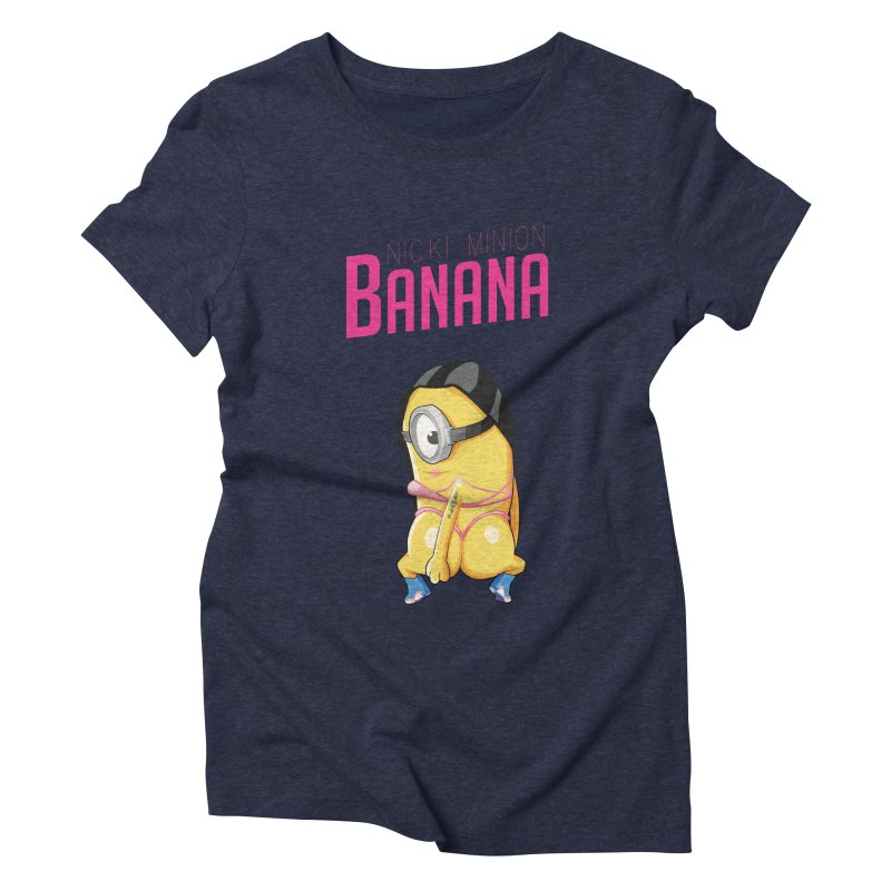 Banana Women's Triblend T-shirt by yobann's Artist Shop