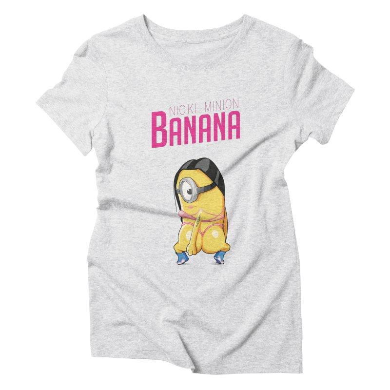 Banana Women's Triblend T-shirt by yobann's Artist Shop