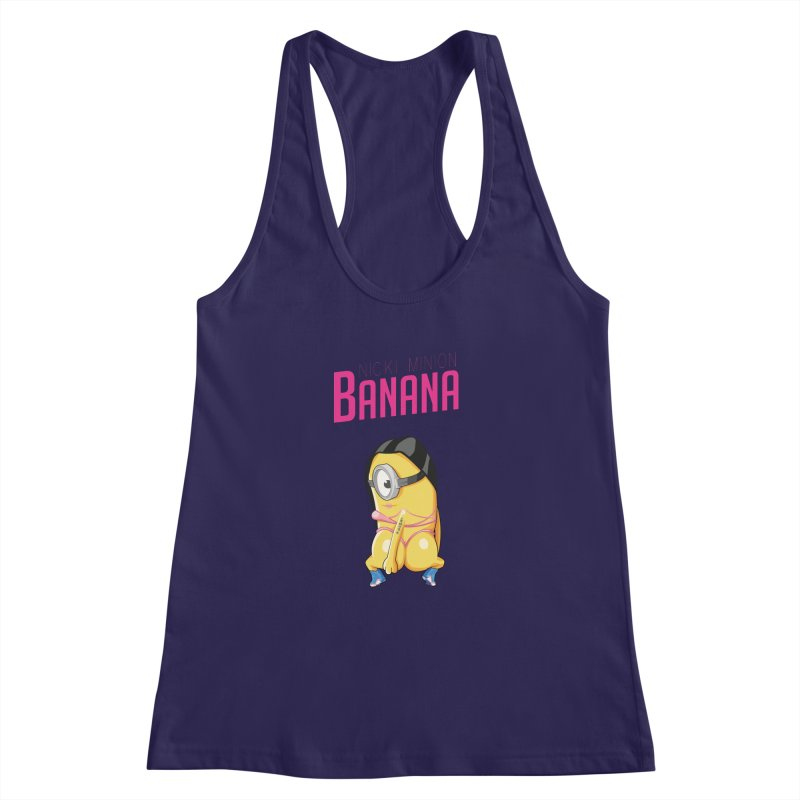 Banana Women's Racerback Tank by yobann's Artist Shop