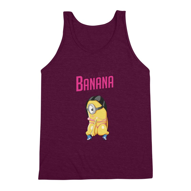 Banana Men's Triblend Tank by yobann's Artist Shop