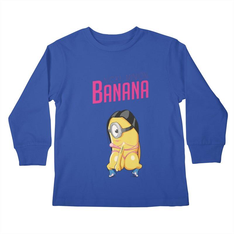 Banana Kids Longsleeve T-Shirt by yobann's Artist Shop