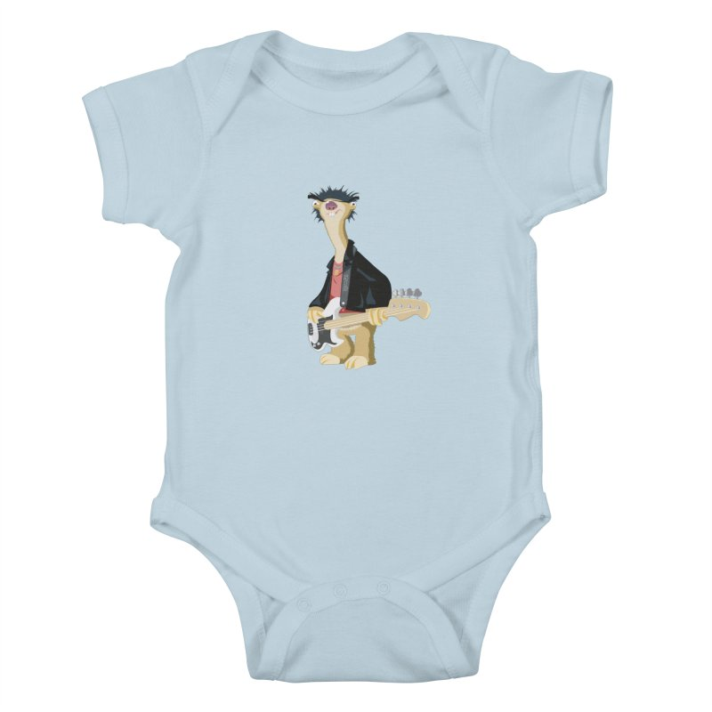 Sid. Kids Baby Bodysuit by yobann's Artist Shop