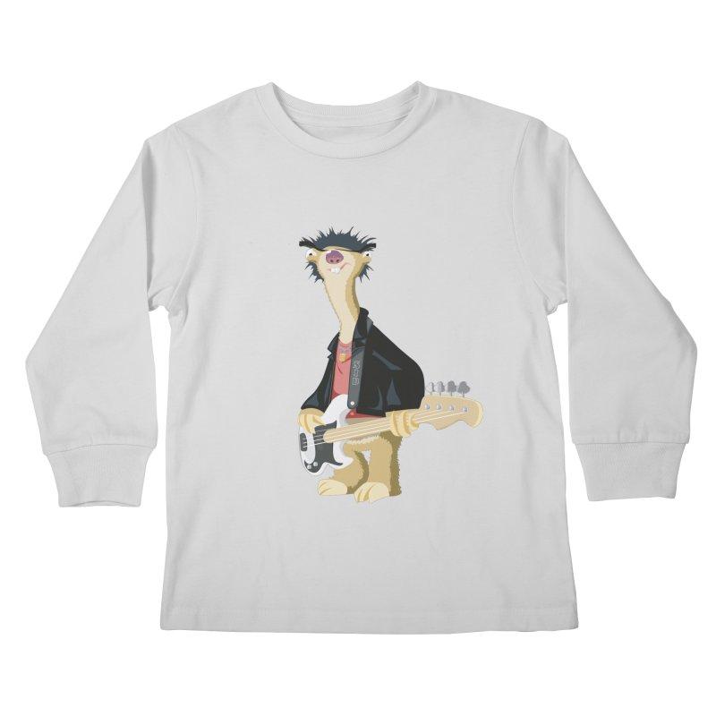 Sid. Kids Longsleeve T-Shirt by yobann's Artist Shop