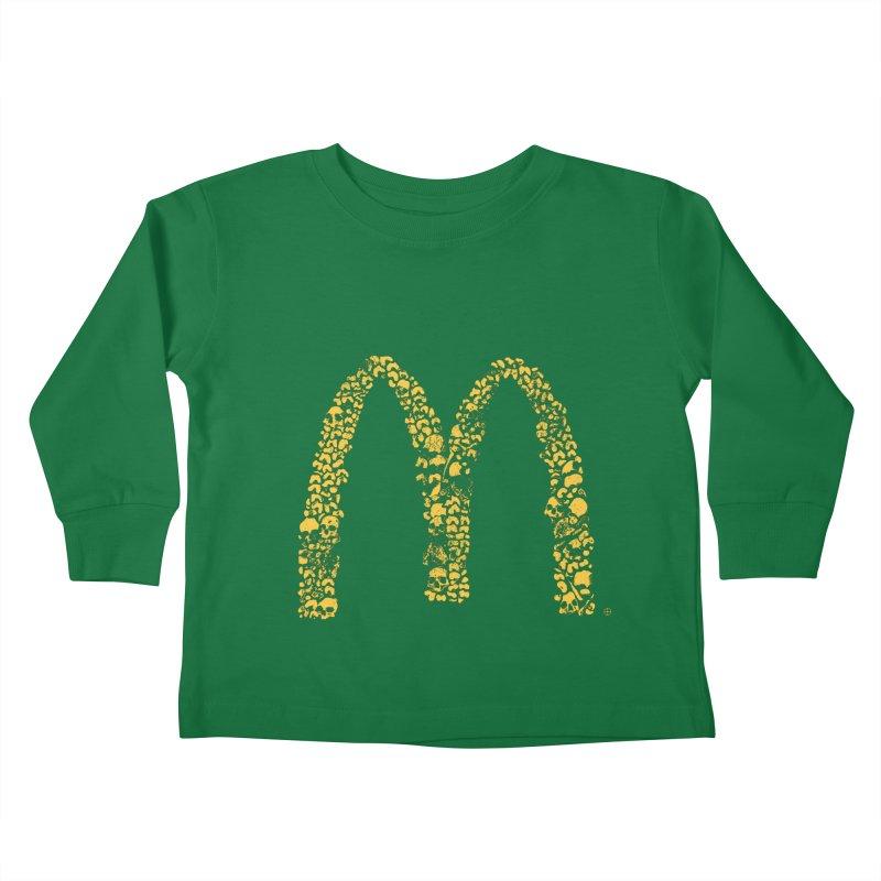 Madness Kids Toddler Longsleeve T-Shirt by yobann's Artist Shop