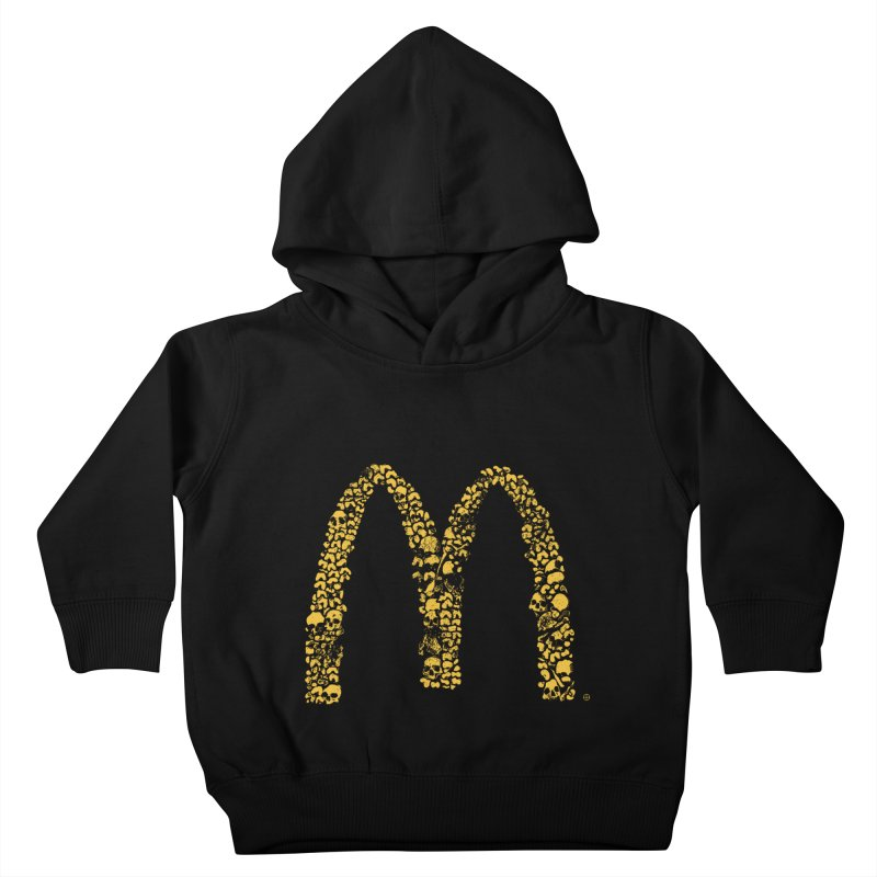 Madness Kids Toddler Pullover Hoody by yobann's Artist Shop