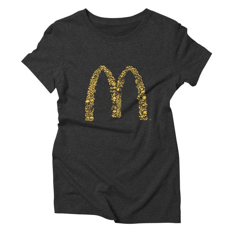 Madness Women's Triblend T-shirt by yobann's Artist Shop
