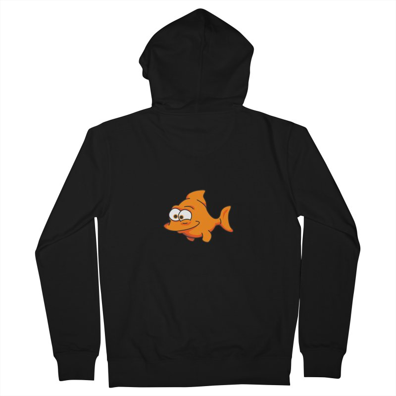Goldfish Men's Zip-Up Hoody by yobann's Artist Shop