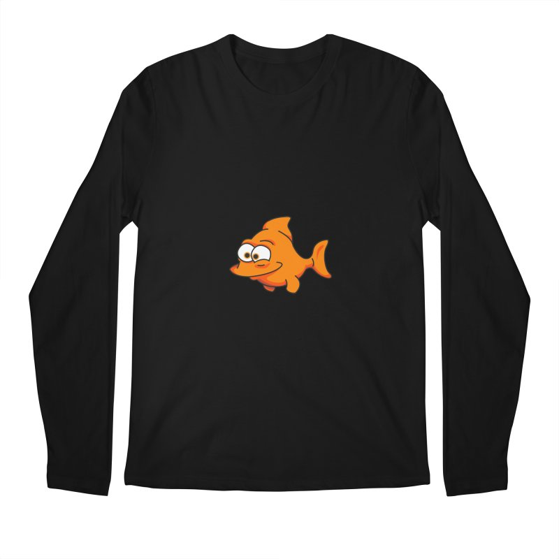 Goldfish Men's Longsleeve T-Shirt by yobann's Artist Shop