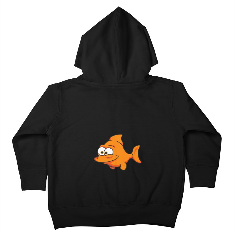 Goldfish Kids Toddler Zip-Up Hoody by yobann's Artist Shop