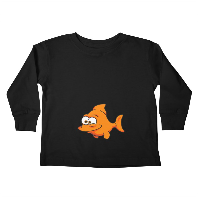 Goldfish Kids Toddler Longsleeve T-Shirt by yobann's Artist Shop
